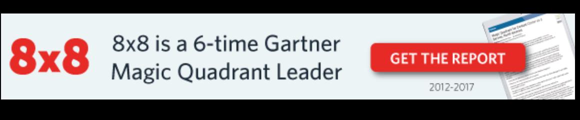 Magic Quadrant Leader - 8x8