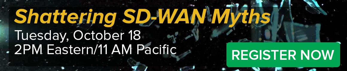 SD WAN Webinar