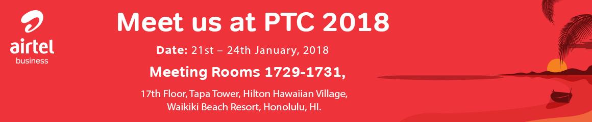 Meet us at PTC'18