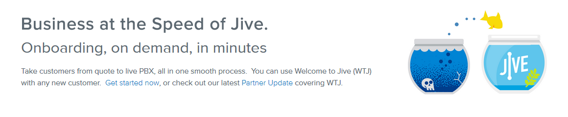 Jive: From Quote to Live PBX in Minutes.