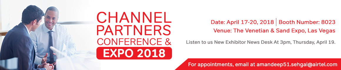 Meet us at Channel Partner Expo