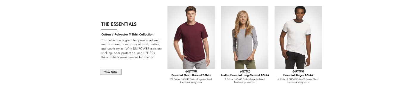 Russell Essential Cotton Collection