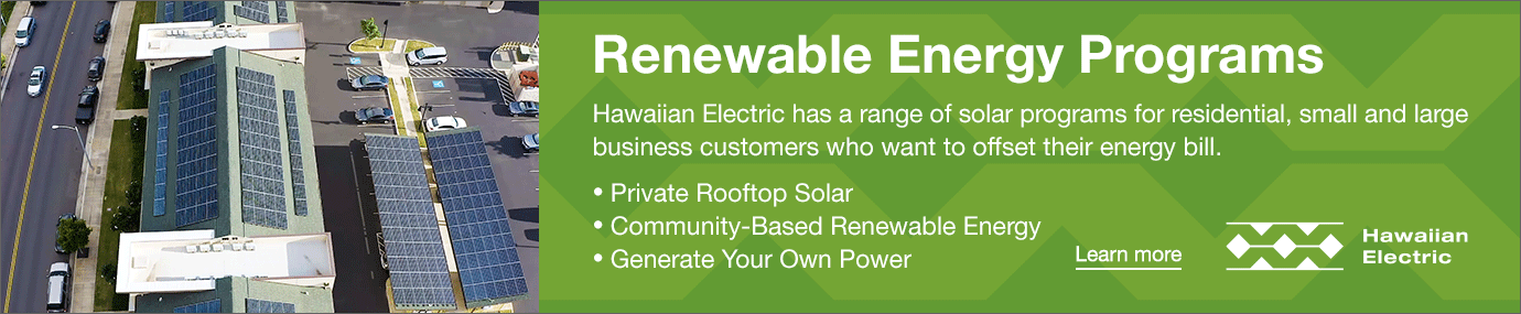 hawaii electric renewable