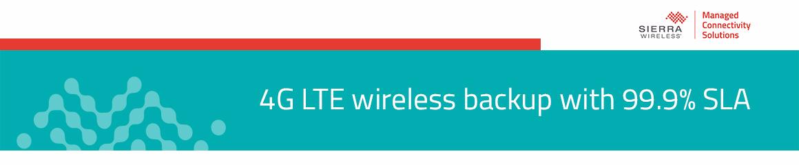 4G LTE backup SLA