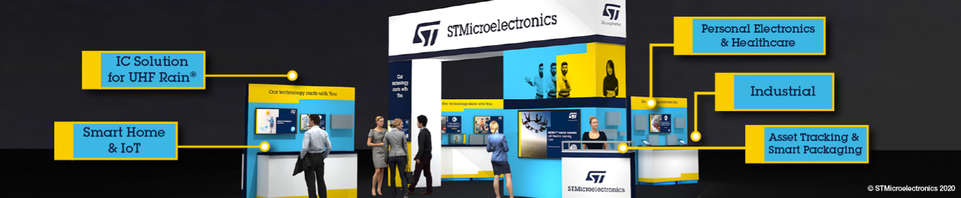 STMicroelectronics Booth