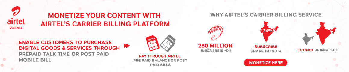 Airtel Carrier Billing Solution