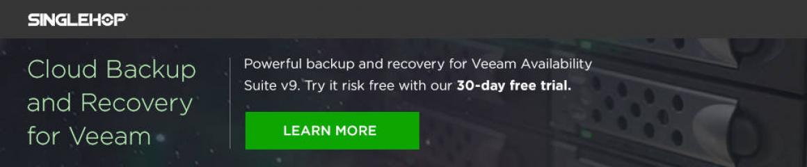 Cloud Backup and Recovery for Veeam