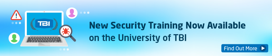 New Security Training Banner