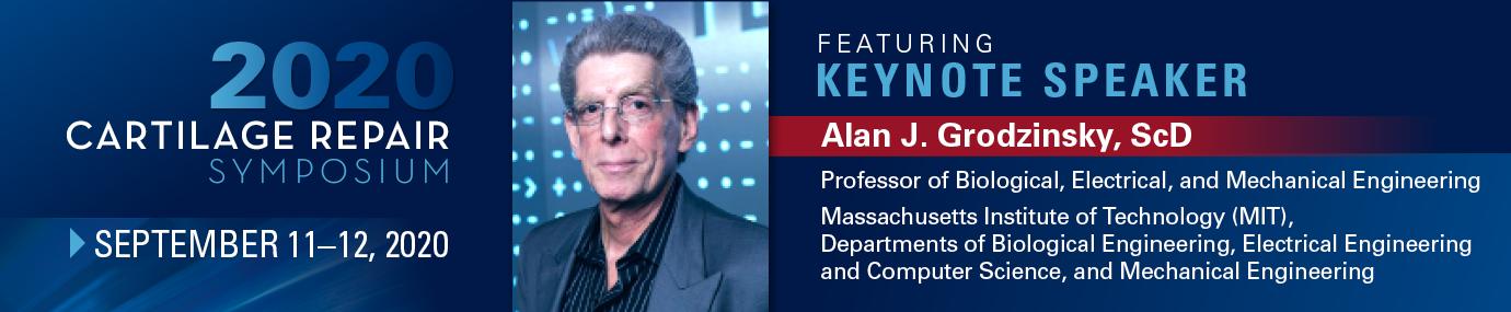 Keynote Speaker Alan Grodzinsky
