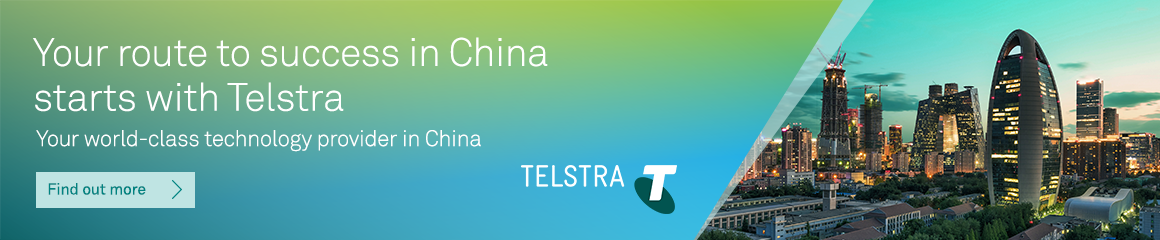 Your route to success in China starts with Telstra