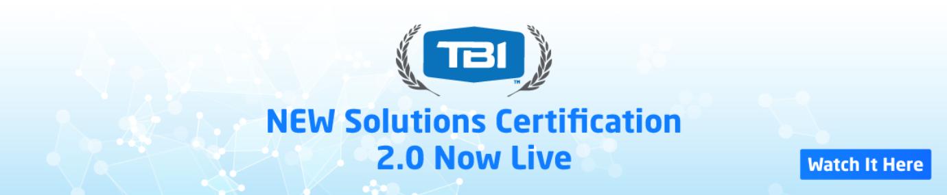 UTBI Solutions Certification 2.0