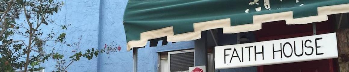 Faith House Sign